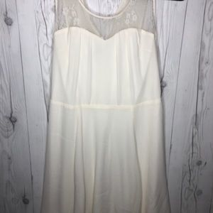 Express White Mini Dress